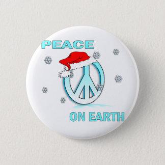 peaceonearth pinback button