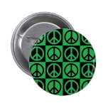 Peaces of Peace Green Button