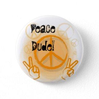 Peaces sign button