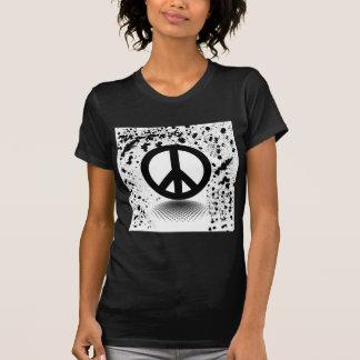 Peacesign splatter shirt