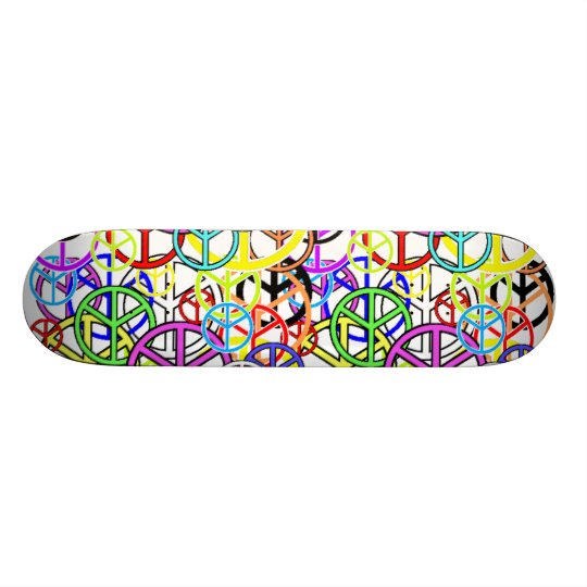 peacesigns skateboard