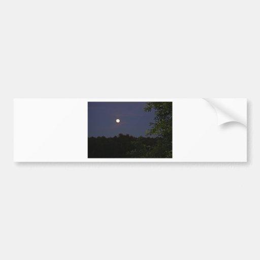 peacful night bumper stickers