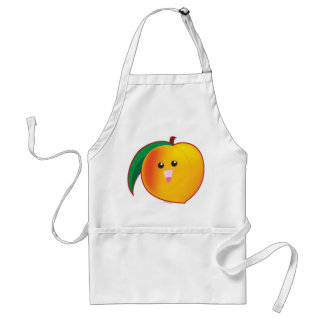 Peach Adult Apron