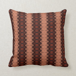 Peach and Copper Pillow