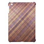 Peach and Lavender Damask Stripes iPad Mini Case