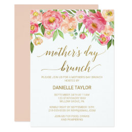 Mothers Day Invitations 1700 Mothers Day Announcements Invites