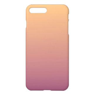 Peach and Plum Ombre Gradient iPhone 7 Plus Case