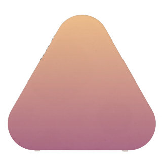 Peach and Plum Ombre Gradient Speaker