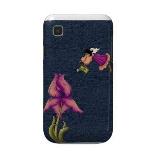Peach and Purple Iris Angel Vibrant Galaxy Case casematecase