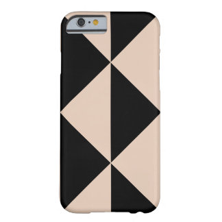 Peach Arrow + Changeable Black Background Color Barely There iPhone 6 Case
