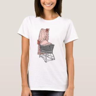 Peach Baby Bassinet T-Shirt