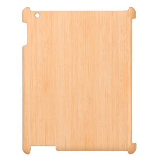 Peach Bamboo Wood Grain Look Case For The iPad 2 3 4