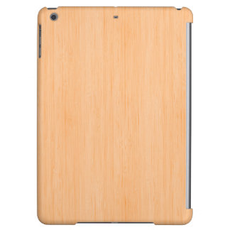 Peach Bamboo Wood Grain Look iPad Air Covers