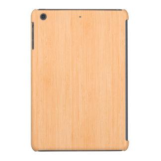 Peach Bamboo Wood Look iPad Mini Covers