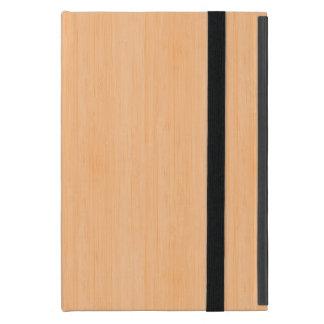 Peach Bamboo Wood Look iPad Mini Case