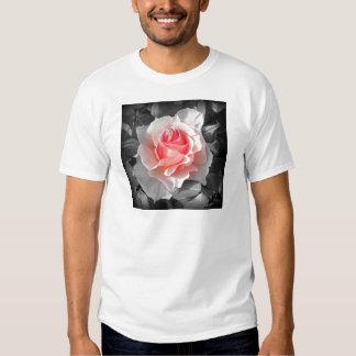 Peach Bliss Rose Tee Shirt