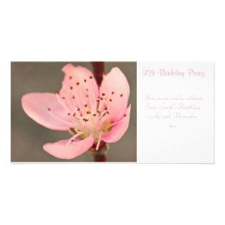 Peach Blossom -  Birthday Party Invitation