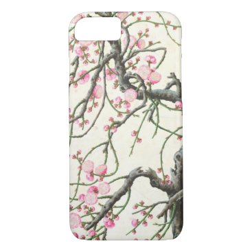 Beach Themed Peach blossom (colour on paper) iPhone 7 case