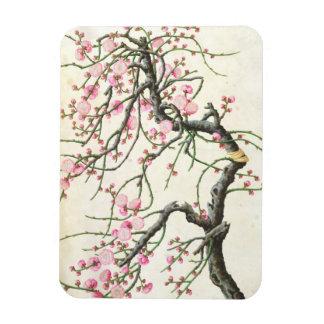 Peach blossom colour on paper flexible magnet