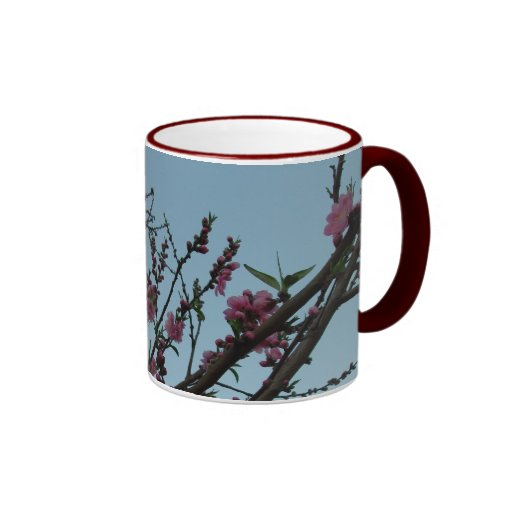 Peach Blossom Mug