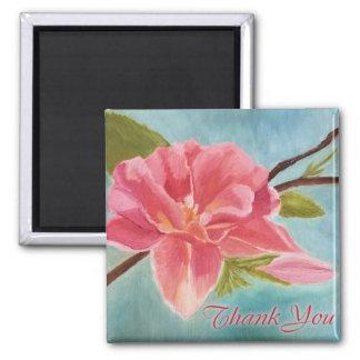 Peach Blossom Original Painting Magnet
