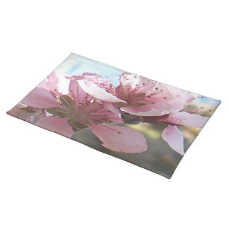 Peach Blossoms Cloth Placemat