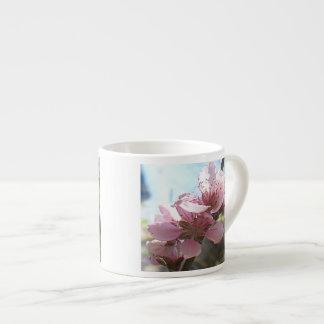 Peach Blossoms Espresso Cup