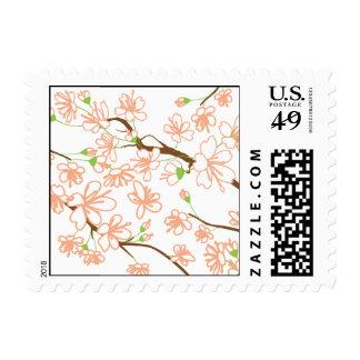 Peach Blossoms Postage