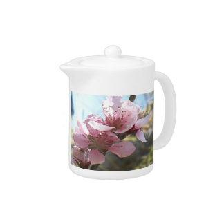 Peach Blossoms Teapot
