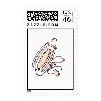 peach bottle postage stamp