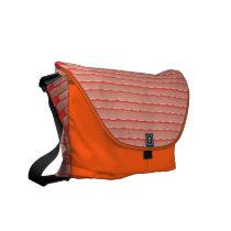 Peach Brick Bag on Orange Foundation