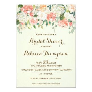 peach_bridal_shower_invitation_elegant_modern rc0ba6bae0e5b4ba19afe50b8c7328fc3_zkrqs_324?rlvnet=1 peach bridal shower invitations & announcements zazzle,Peach Bridal Shower Invitations