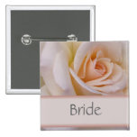 Peach Bride Wedding PIn