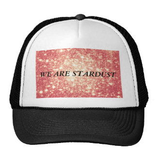 Peach Champagne Stars Trucker Hat