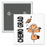 Peach CHEMO GRAD 1 (Endometrial Cancer) Pins