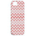 Peach Chevron Zig Zag Pattern iPhone Case iPhone 5 Cover