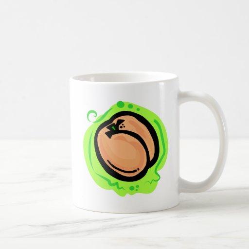 Peach Classic White Coffee Mug