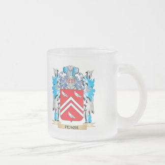 Peach Coat of Arms - Family Crest Coffee Mug