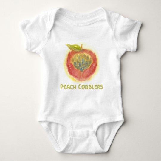 Peach Cobblers Infant Baby Bodysuit