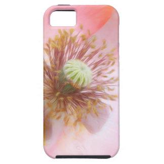 Peach Colored Annual Poppy iPhone SE/5/5s Case