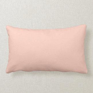 Peach Colored Throw Pillow