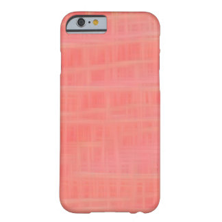 Peach criss cross barely there iPhone 6 case