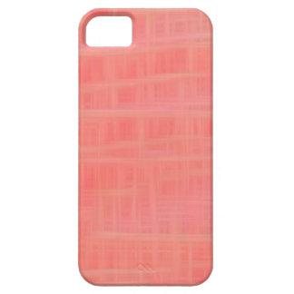 Peach criss cross iPhone 5 covers