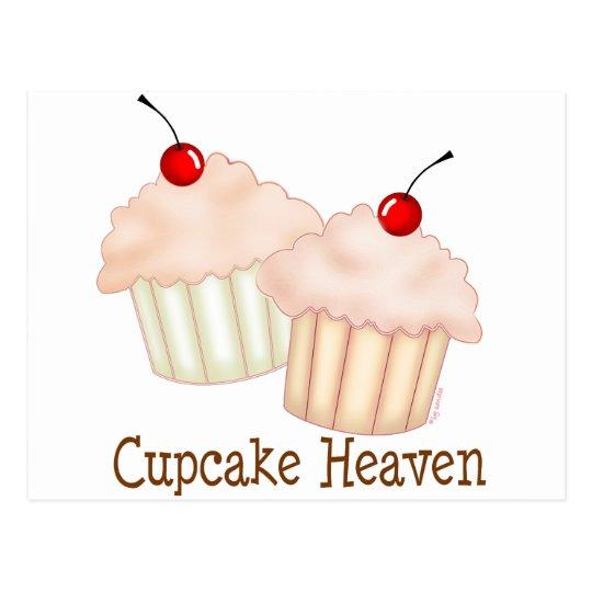 Peach Cupcakes Postcard