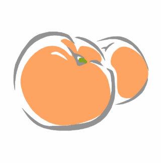 Peach Cutout