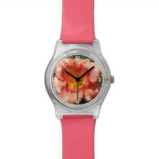 Peach Daylily Watch