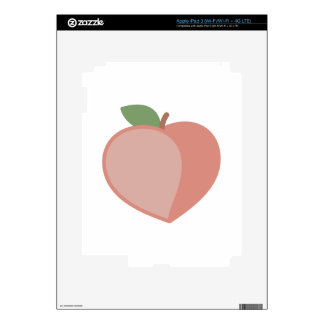 Peach Decals For iPad 3