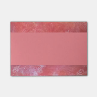 Peach delight post it notes
