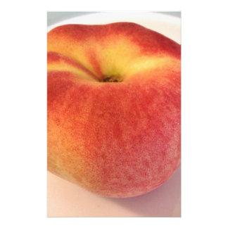 Peach Donut Personalized Stationery