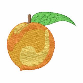 Peach Embroidered Shirt